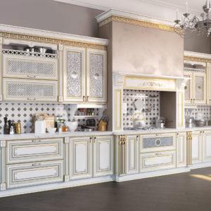 Классическая кухня Лукреция Золотая
